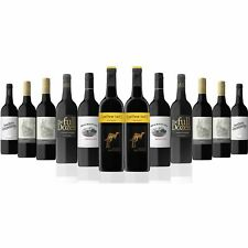 Red Wine Mixed Dozen Featuring Yellow Tail Shiraz