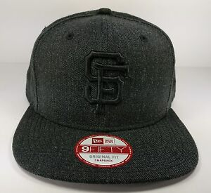 brand new 63159 64a63 Image is loading San-Francisco-Giants-New-Era-9Fifty-Heather-Basic-