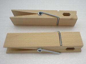 Riesenklammern-Holzklammer-XXL-Waescheklammer-150-mm-lang-Buche-natur