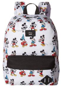 10aad1eee1 NWT VANS Disney Old Skool II BACKPACK School Bag MICKEY TROUGH AGES ...