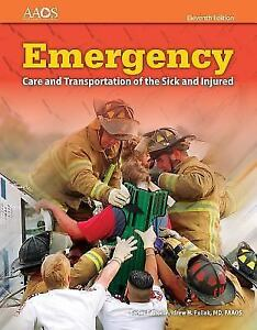 emergency care and transportation of the sick and injured 2016 rh ebay com
