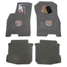 2006 2007 Cadillac DTS Sedan Light Grey Floor Mats - Crest Logos - USA Made