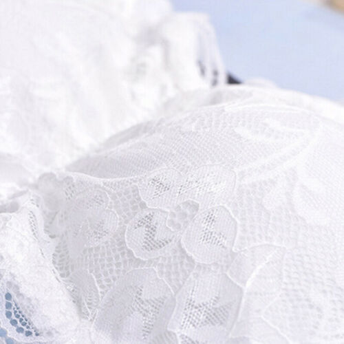 Women Brassiere Lace Bra Tube Top Wrapped Chest Tank Top Underwear Crop Top# WQ