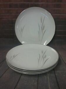 Image is loading Platinum-Wheat-fine-china-10-inch-Dinner-Plates- & Platinum Wheat fine china 10 inch Dinner Plates - set of 5 | eBay