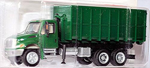 International prostar roll dumpster contenedor de basura ford Blue Diamond 1:87 Boley