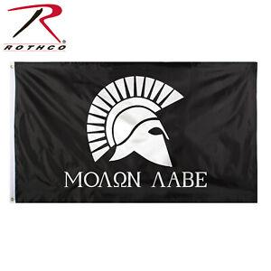 MOLAN LABE COME /& TAKE IT 111 PERCENTER FLAG 3X5 FEET AMERICAN PATRIOT BANNER US