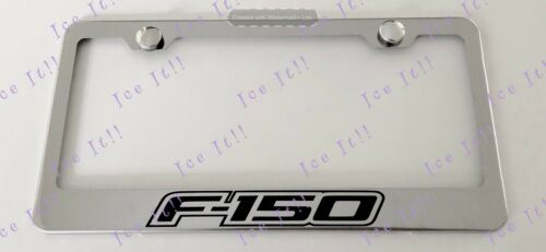 Ford F-150 Stainless Steel License Plate Frame Rust Free W// Bolt Caps