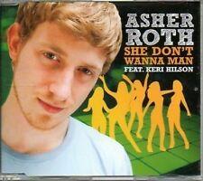 (695Z) Asher Roth, She Don't Wanna Man - DJ CD