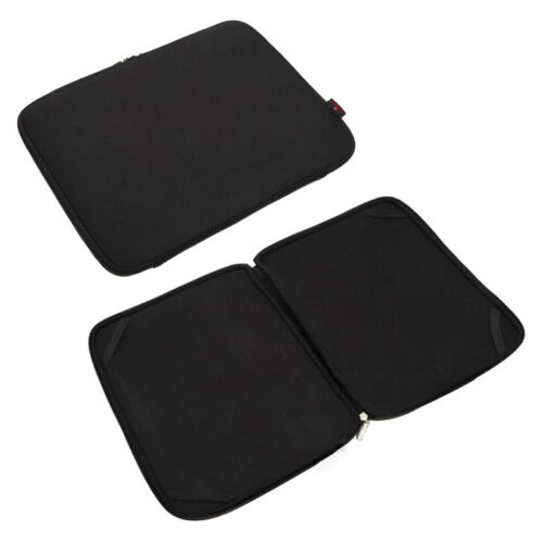 """Black Notebook Fixed Sleeve Case Bag Cover For 10/"""" 12/"""" 13/"""" 14/"""" 15/"""" 17/"""" Laptop PC"""
