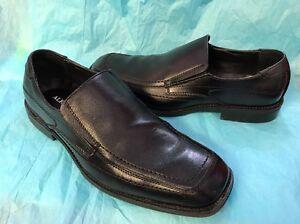 Alfani Black Shoes Size 10 M Slip On Dressy