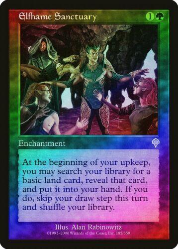 Elfhame Sanctuary FOIL Invasion PLD Green Uncommon MAGIC MTG CARD ABUGames