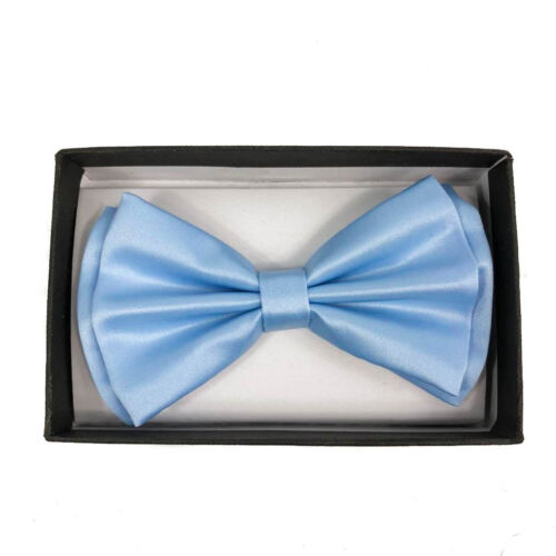 Awesome Sky Blue Wedding Accessories Adjustable Bow Tie /& Suspenders