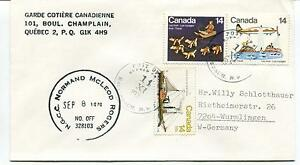 '70 Ottawa Garde Cotiere Canadienne Quebec Canada Polar Antarctic Cover Les Consommateurs D'Abord