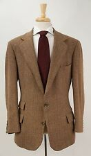 Rare Early POLO RALPH LAUREN Tweed Dual Vent Country Jacket 42 R