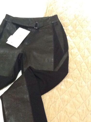 Deane 10 pelle taglia nera in Pantaloni Catherine 4HAwI0wq