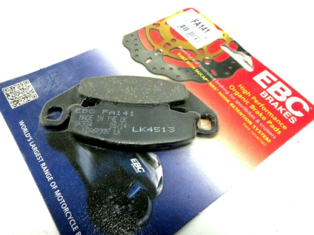 EBC Organic Rear Brake Pads For Kawasaki Ninja ZR550 Zephyr 250R FA141