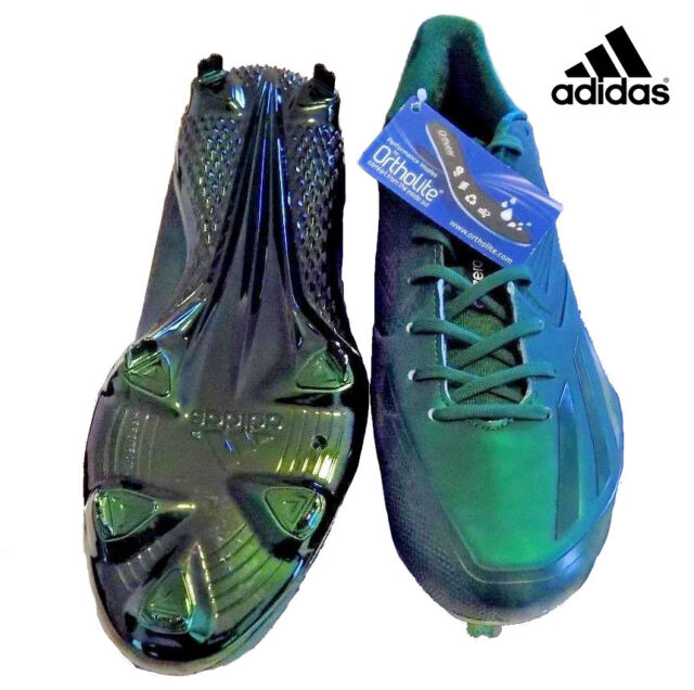 5eb8fb6904d3 New ADIDAS Mens Adizero Afterburner 3 E SA Baseball Cleats Green BW1130 Sz 9