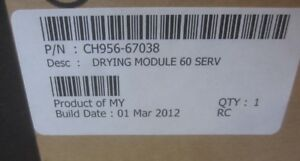 NEW-CH956-67038-Dryer-module-Includes-thermal-switch-amp-resistors-for-60-034-plotter