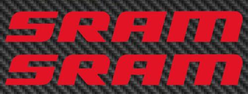 SRAM Logo Vinyl Sticker Decal Car Window 29er Mountain Bike mtb 27.5 road