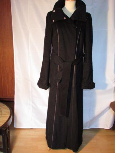 Lacroix Noire Taille 38 Laine En Christian Manteau R1w77Z
