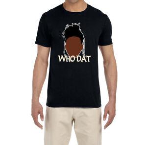 super popular c764d 28abf Details about New Orleans Saints Alvin Kamara Who Dat T-Shirt
