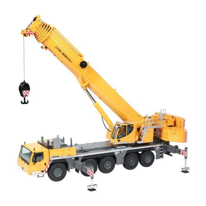 NZG 959 LIEBHERR LTM 1250-5.1 Mobile Crane Liebherr Livery - Scale 1 50