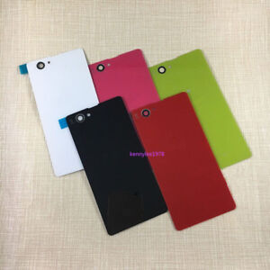 premium selection ae793 deb83 Details about For Sony Xperia Z1 Compact Mini D5503 Battery Back Door Rear  Glass Cover case