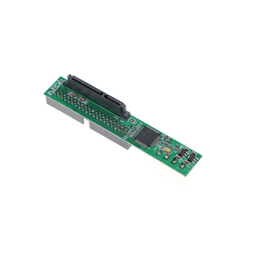"""SATA ssd hdd female hard drive to ide 3.5/"""" 40 pin male converter card adapter PN"""