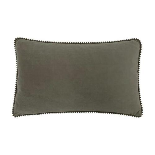 Furn Cosmo Velvet Cushion Cover in Grey two sizes