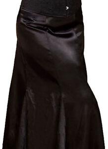 schwarze schiffon rock damen ebay
