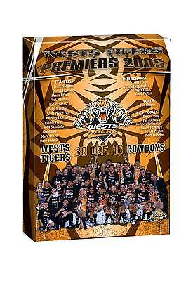 NRL TEAM Wests Tigers  Past Premiers Player Image Canvas Christmas Fathers Gift