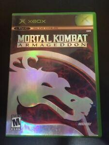 Mortal-Kombat-Armageddon-Microsoft-Xbox-2006-Complete-W-box-amp-Manual