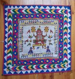 Ancienne-Decoration-Tribale-Banjara-Rabari-Rajasthan-Inde