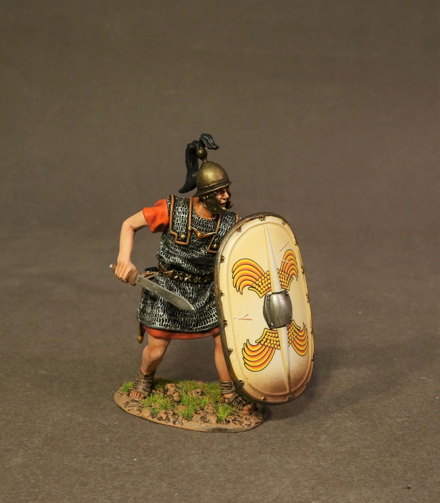 JOHN JENKINS ROMAN EMPIRE AGE OF ARTHUR RR-07W LEGIONNAIRE AT THE READY MIB