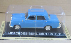 MERCEDES-BENZ-W180-PONTON-1-43-DIECAST-MODEL-CAR-USSR-BA11