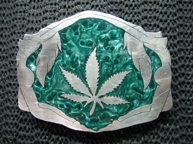 Marijuana Weed Pot Ganja Reefer Bud Drug Belt Buckles More