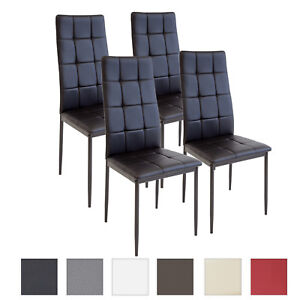 X Esszimmerstuhl Küchenstuhl Schwarz Details Zu 4 Stühle Esszimmerstühle Stuhl Rimini lcKJTF1