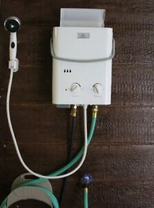 Bon Image Is Loading Tankless Water Heater Hot Shower Instant Outdoor Portable
