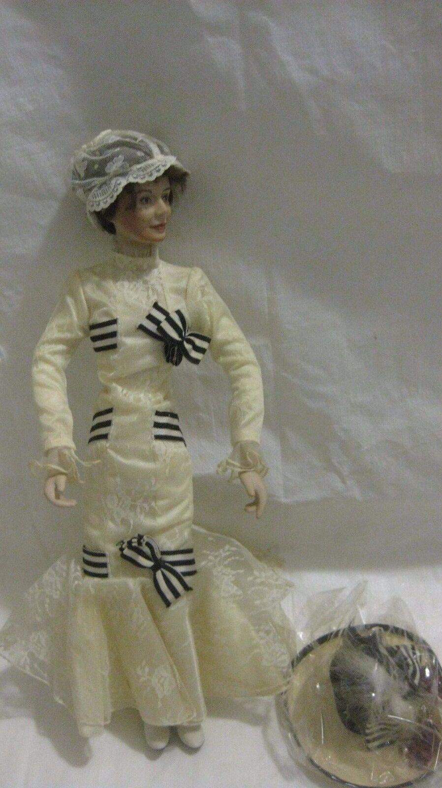 Eliza At Ascort le Vittoriano Porcellana Bambola il Mio Fiera Donna Raccolta. S.