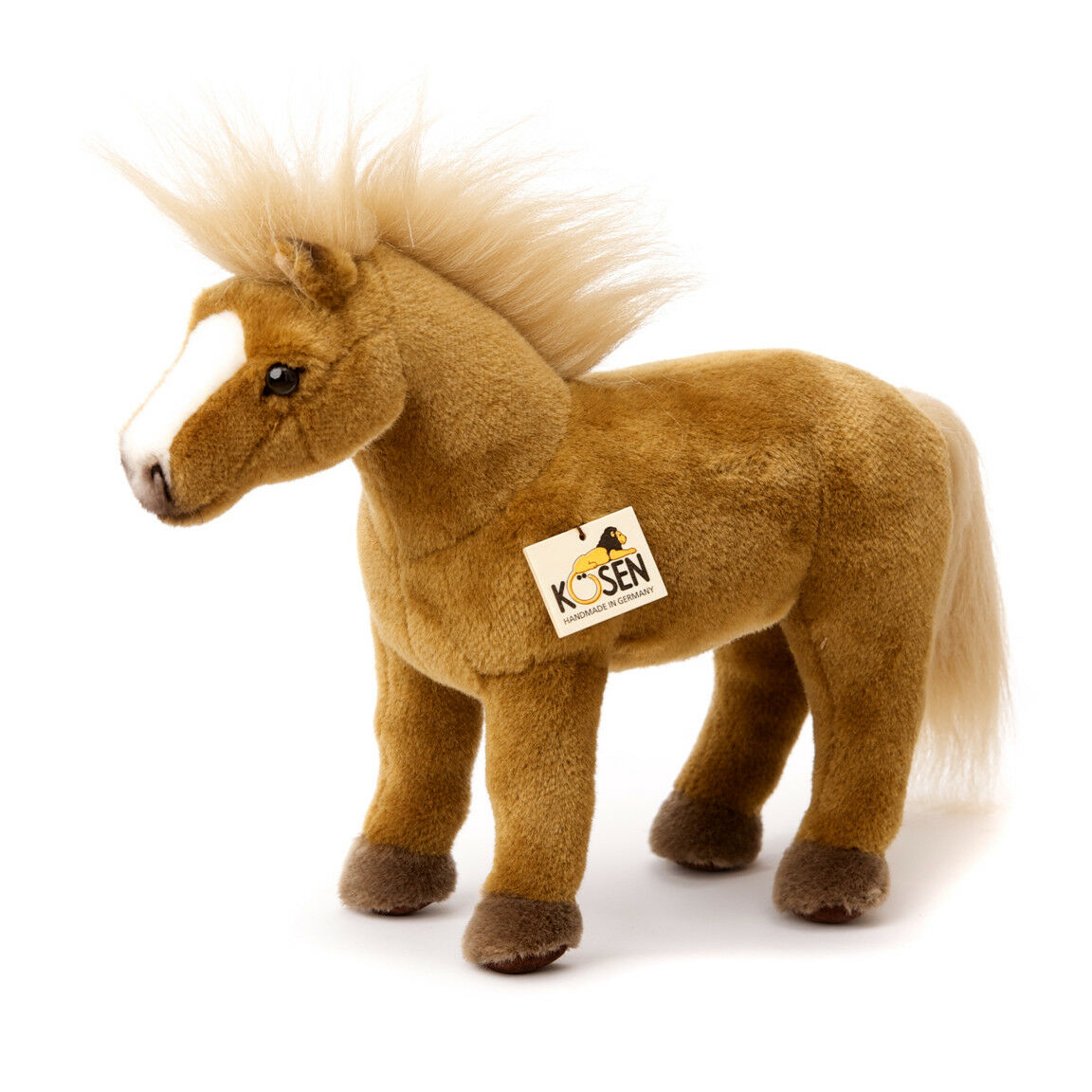 Haflinger horse collectable plush soft toy - Kosen   Kösen - 2571