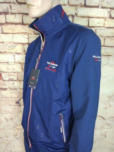 New Paul /& Shark Yachting Men/'s Tracksuit,Set Pants Size M-3XL Blue Jacket