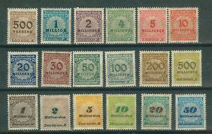 Deutsches-Reich-313-330-o