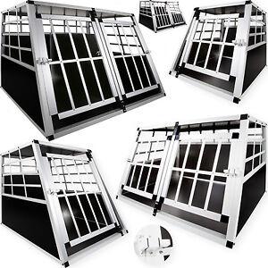 LovPet-Hundebox-Transportbox-Alubox-Hundetransportbox-Reisebox-Gitterbox-ALU