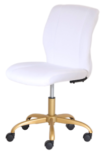 New White Office Chair Swivel Rolling Computer Desk Seat ...
