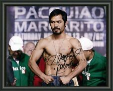 Manny Pacquiao Signature Autographed Signed A4 Print Poster Photo Boxing Boxer