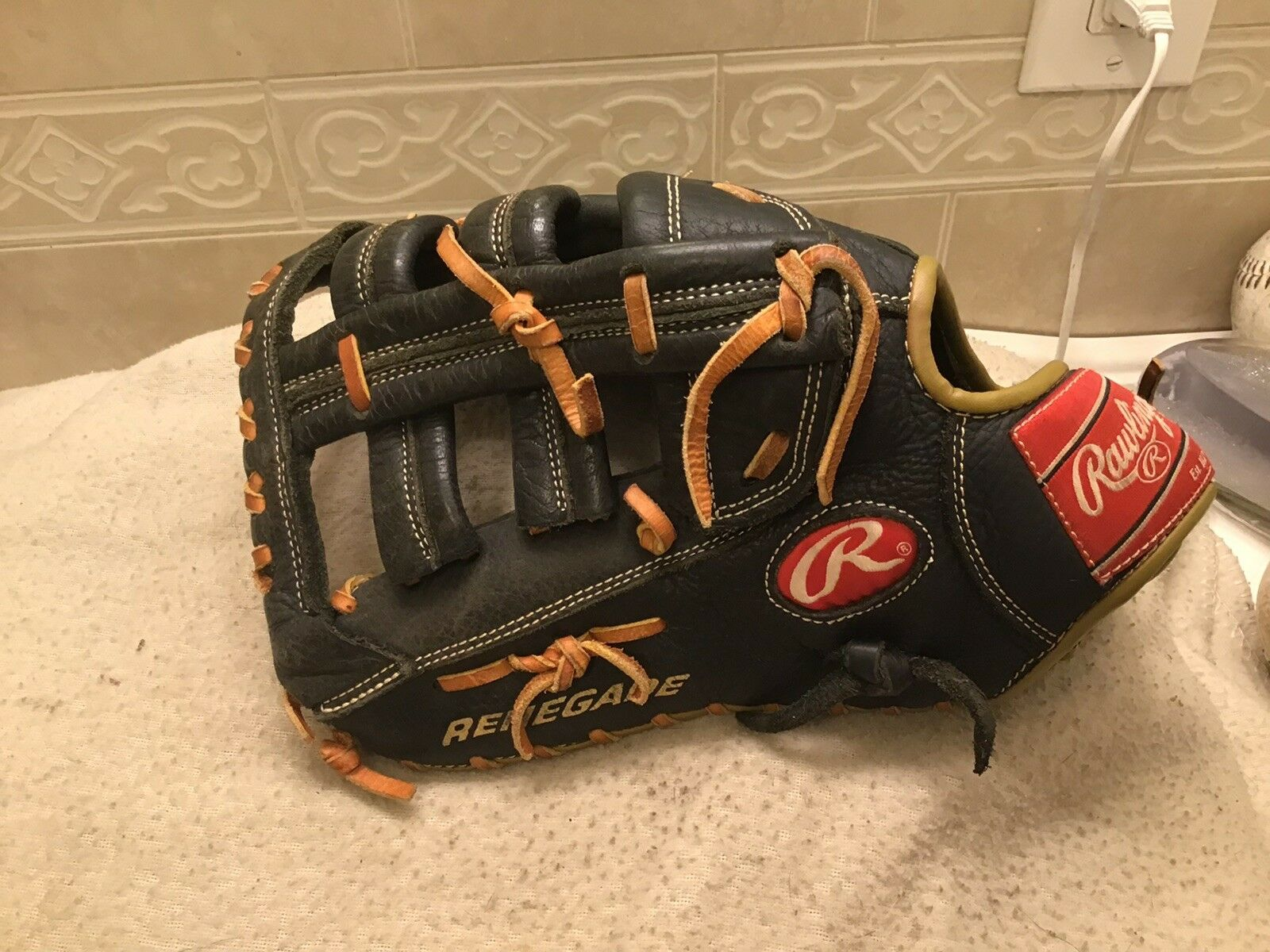 "Rawlings Renegade RFB 13"" Baseball Softball First Base Mitt Left Hand Throw"