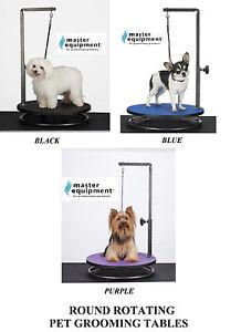 Master Equipment Round Rotating Portable Pet Dog Grooming