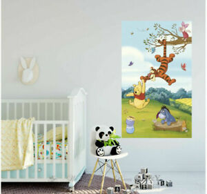 Winnie The Pooh Vinyl Print Poster Wall Sticker Kids Mural Decal Art Decor Gift