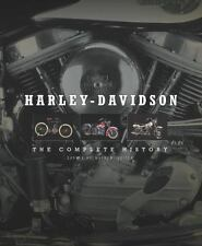 Harley-Davidson : The Complete History by Dewhurst Hackett and Darwin Holmstrom (2016, Hardcover)