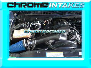 99-07 CHEVY SIERRA YUKON SUBURBAN SILVERADO ESCALADE COLD WB AIR INTAKE KIT Blue